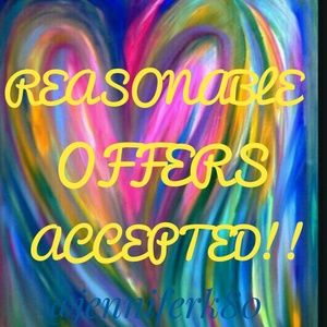 Other - 💝💝Reasonable Offers Accepted!!